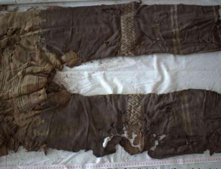 Cei mai vechi pantaloni din lume au 3.000 de ani