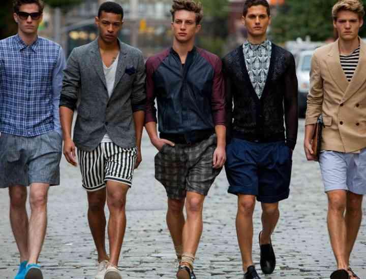 Pantalonii scurţi pentru bărbaţi. Cum îi alegi pe cei potriviţi pentru corpul tău