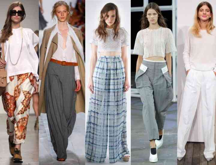 Ce pantaloni purtăm vara asta: trendurile din 2014