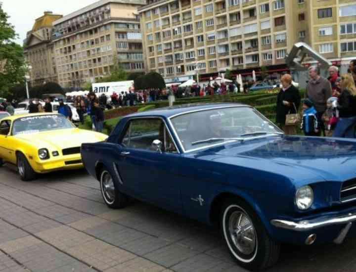 Cele mai fashion maşini retro de producţie rusească, poloneză şi nemţească