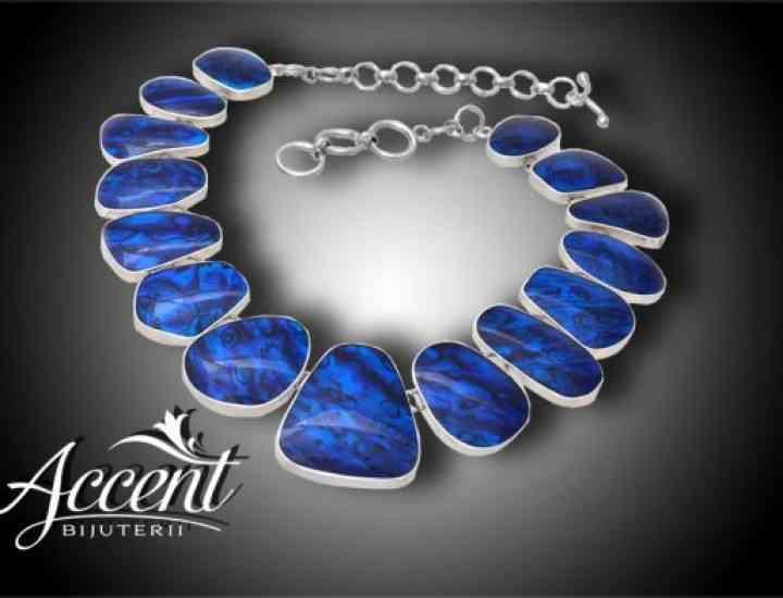 Abalone albastru la Accent Bijuterii – simbol al relaxării