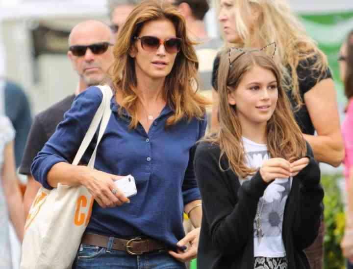 Fata lui Cindy Crawford calcă pe urmele mamei sale