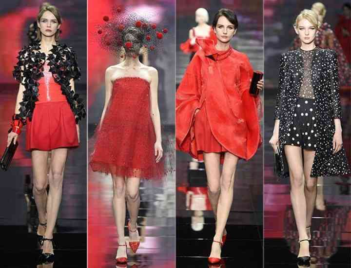 FOTO: Colecția Giorgio Armani Privé Couture / iarna 2014-2015
