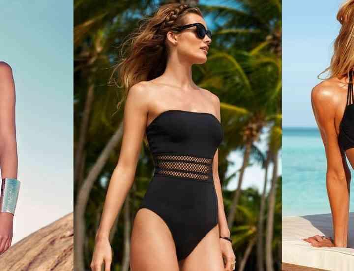 8 costume de baie negre pe care le vei iubi