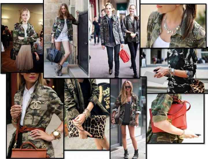 Stilul army – o tendință majoră in 2014. Iată câteva idei de purtare!