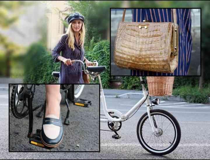 Cum s-a îmbracat Dana Rogoz pentru Skirt Bike