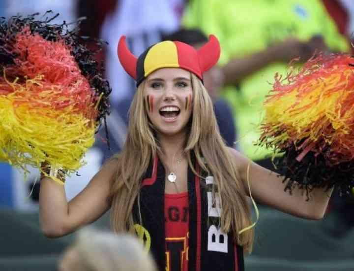 L'Oreal a ales pentru promovare o suporteră a Belgiei aflată în tribune la Cupa Mondială