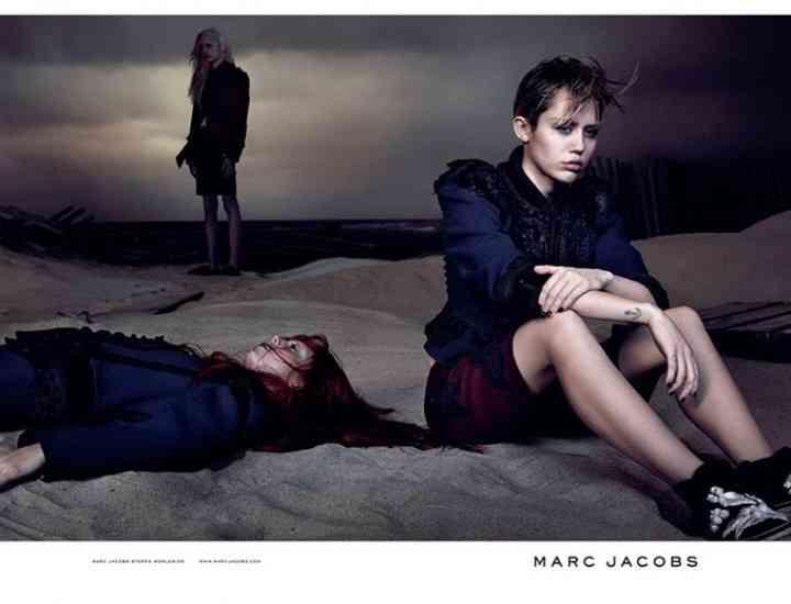 Iat-o pe Miley Cyrus în campania Marc Jacobs pentru primăvara/vara 2014