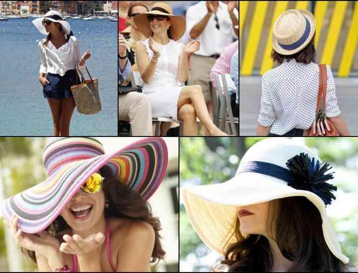 Modalităţi de a purta o pălărie vara