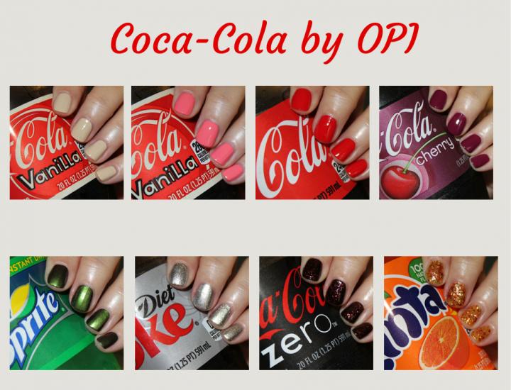 OPI a lansat colecţia Coca Cola by Opi. Culori pentru manichiură în tendinţe în toamna 2014