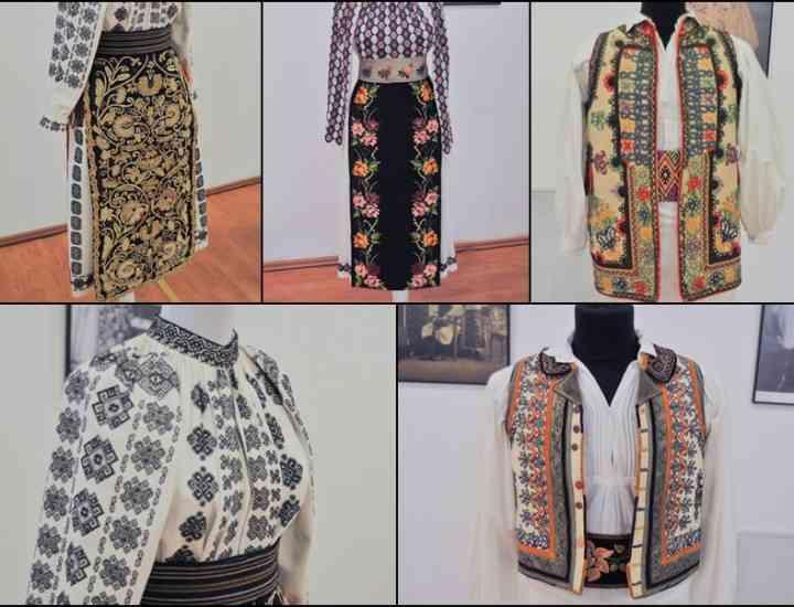 Expoziție de costume tradiționale din Banatul de Câmpie la Muzeul Satului