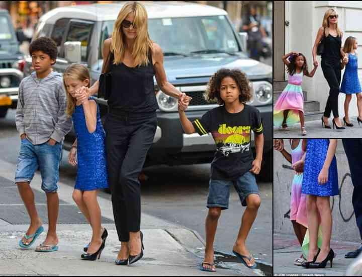 Poartă pantofi stiletto la doar 10 ani