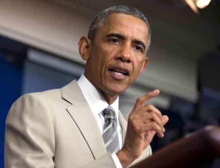 Ce poartă bărbaţi toamna, în 2014: Obama lansează moda costumului crem