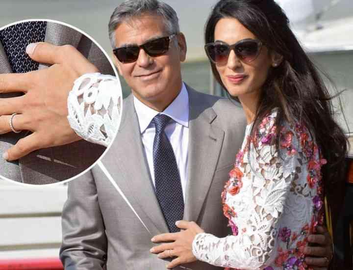 George Clooney s-a căsătorit. Nunta lui George Clooney, în imagini