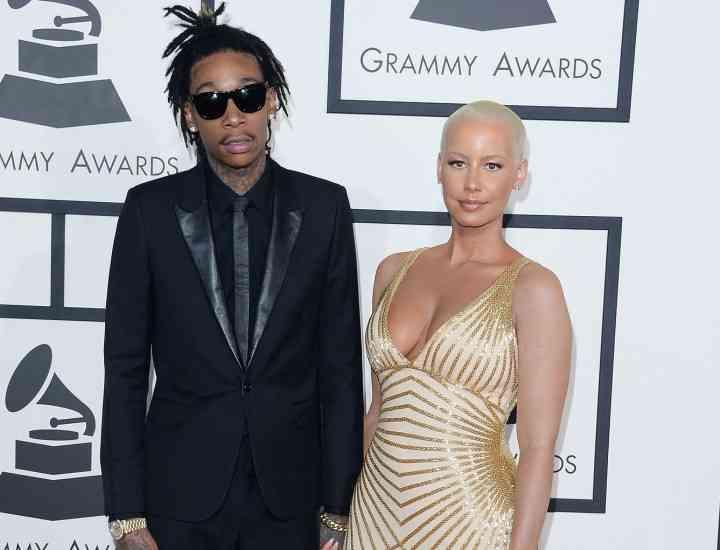 Modelul Amber Rose a pus punct căsniciei cu Wiz Khalifa