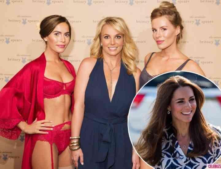 Britney Spears o vrea pe Kate Middleton, ca model pentru colecția sa de lenjerie intimă