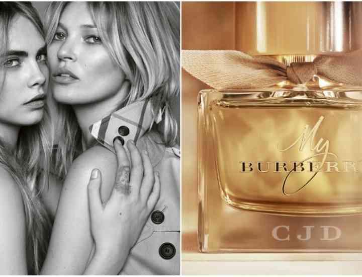 """Kate Moss şi Cara Delevigne, în noua campanie """"My Burberry"""""""