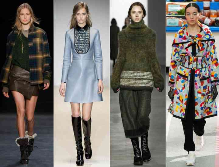 Culorile toamnei 2014, puse în aplicare. Ce haine se poartă în sezonul toamnă-iarnă 2014