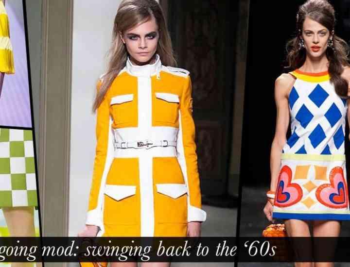 Tricotaje și ținute din anii 60, la modă toamna asta, sezonul toamnă-iarnă 2014
