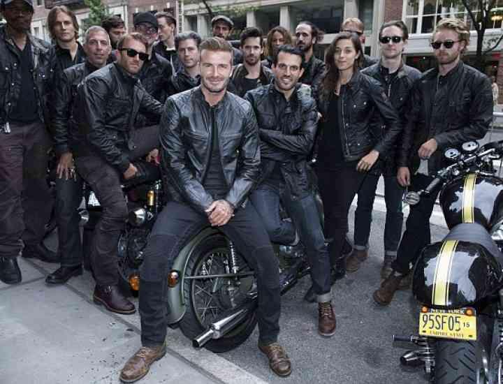David Beckham a lansat o linie vestimentară pentru Belstaff