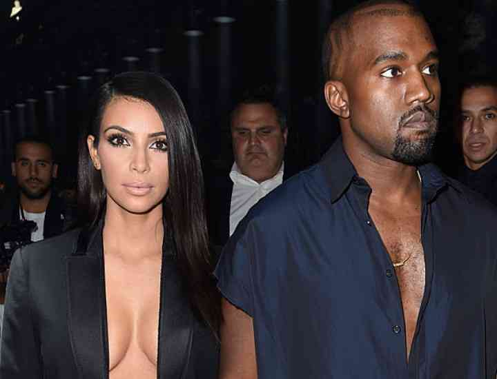 Kim Kardashian și Kanye West – huiduiţi la Săptămâna Modei de la Paris