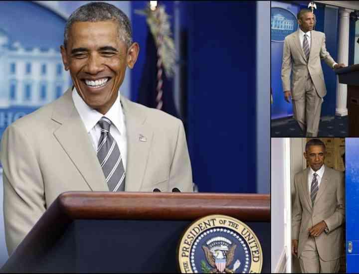 Un costum purtat de Obama stârneşte controverse în social media