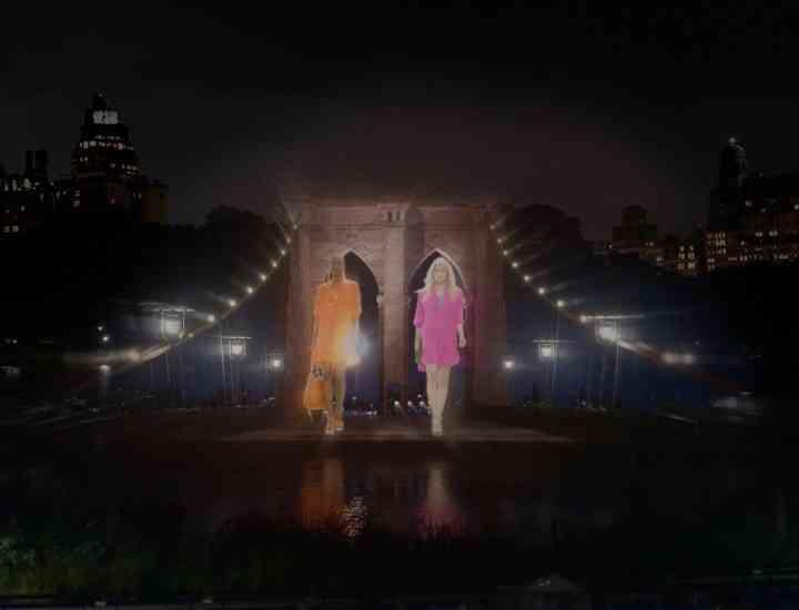 Colecția lui Ralph Lauren prezentată în variantă holografică 4D