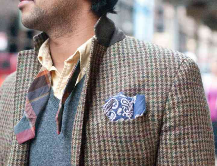 În sezonul toamnă-iarnă 2014 se poartă tweed-ul. Materiale la modă pentru bărbați toamna