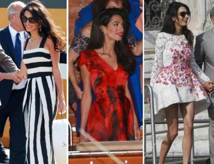 Recomandări pentru rochia de mireasă de la soția lui Clooney și designeri