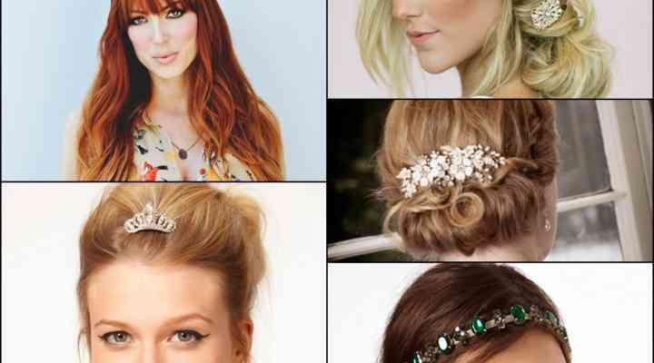 Coafuri la modă cu ajutorul accesoriilor pentru păr