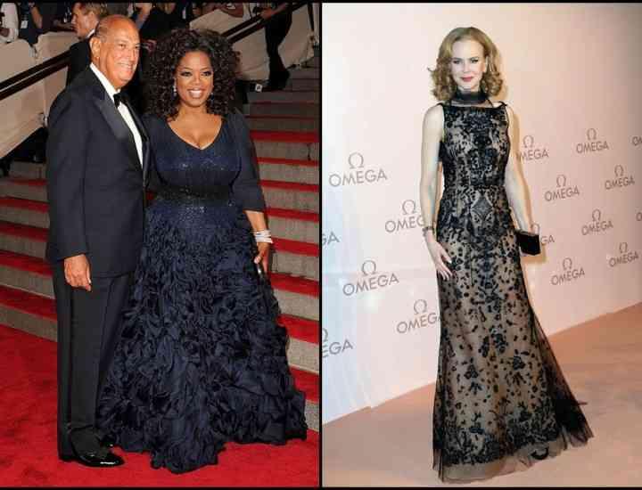 Cele mai frumoase rochii semnate Oscar de la Renta şi purtate de vedete