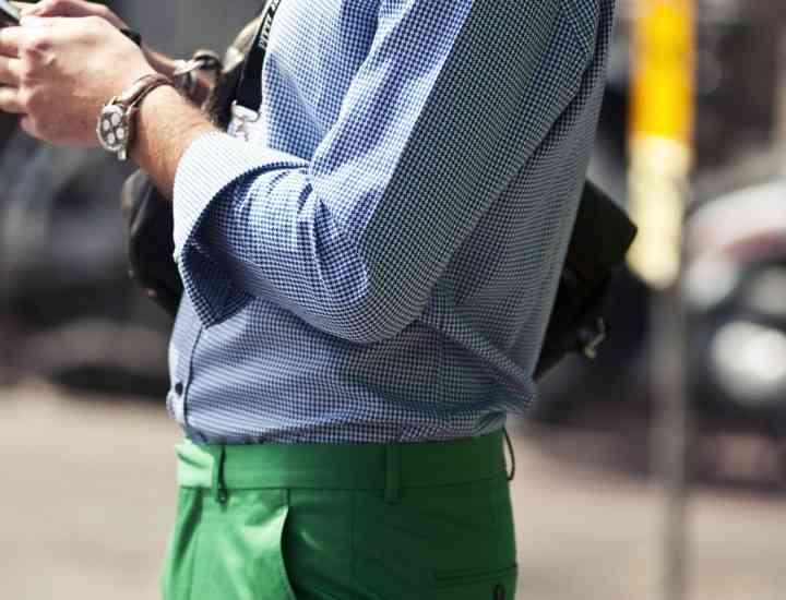 Tendinţe modă 2014: Verdele domină moda pentru bărbaţi, toamna asta