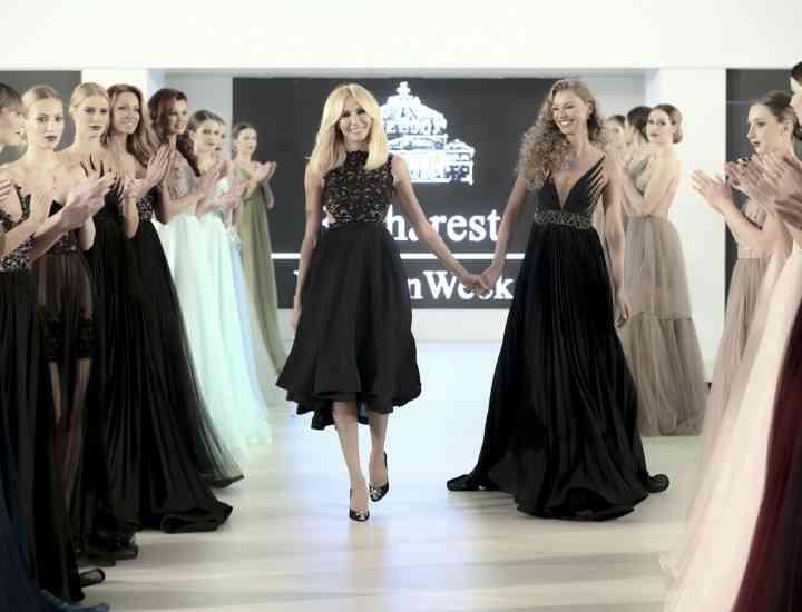Ce piese au propus designerii români la Bucharest Fashion Week 2014 GALERIE FOTO