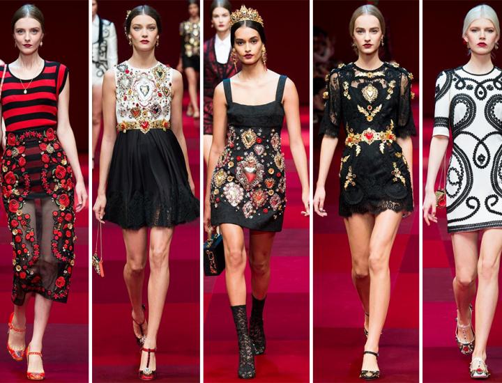 Colecția Dolce & Gabbana pentru primăvara/vara 2015