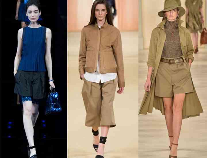 Pantaloni scurți la modă VARA 2015, pentru femei