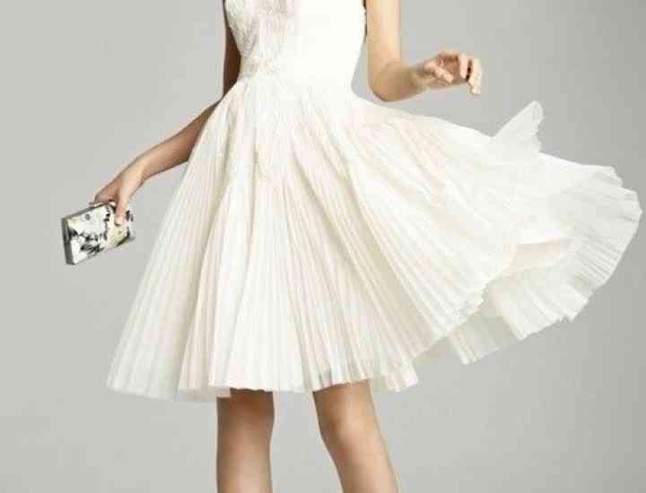 Modele de rochii albe 2015: Sfaturi de cum să porți o rochie albă