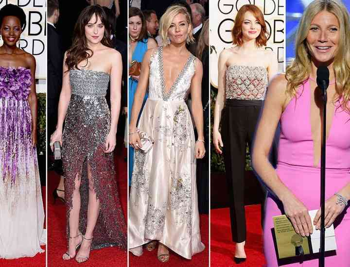 Cel mai bine îmbrăcate vedete la Golden Globes 2015