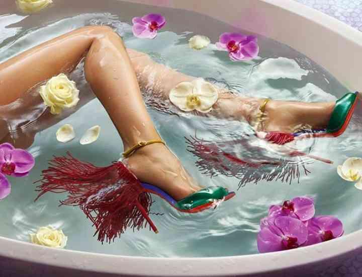 Tendințe pantofi 2015: Campania Christian Louboutin pentru primăvara / vara 2015