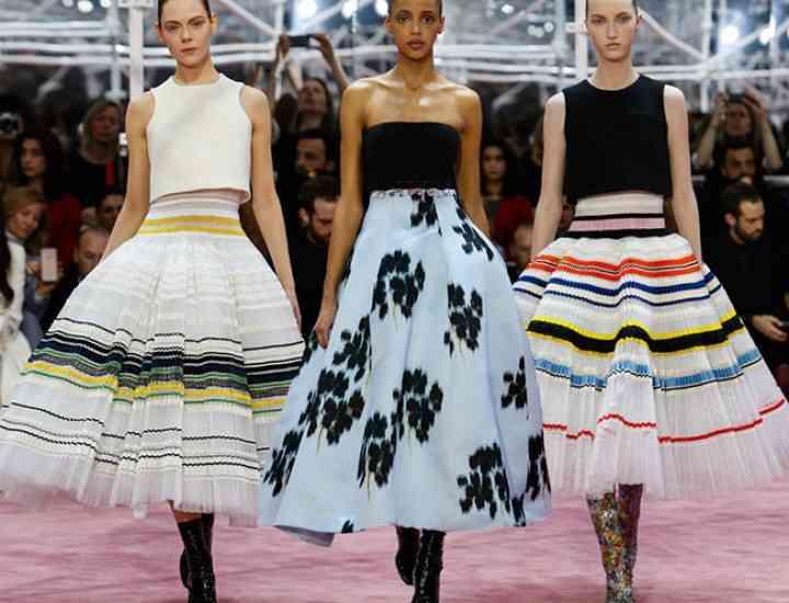 Colecția Christian Dior Couture primăvară / vară 2015