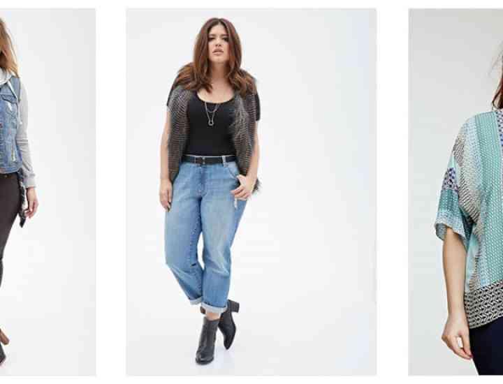 Colecția Forever 21 pentru primăvara/vara 2015 pentru femeile plinuțe