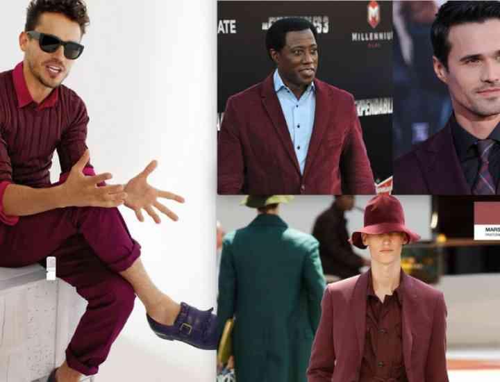 Culori la modă în 2015 Bărbaţi
