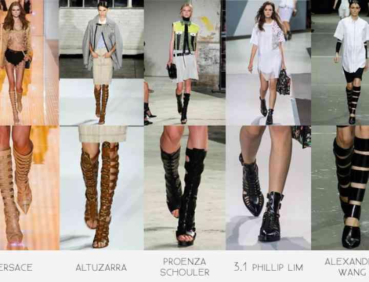 Tendințe pantofi: Ce se poartă în primăvara/vara 2015