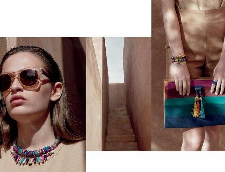 Colecția Parfois primăvară/vară 2015 de bijuterii, genți și pantofi