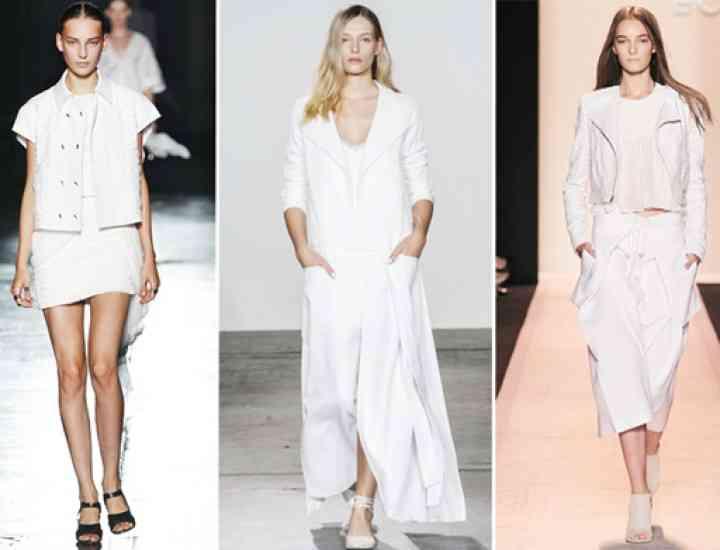 Albul este la modă în 2015! Idei de ținute