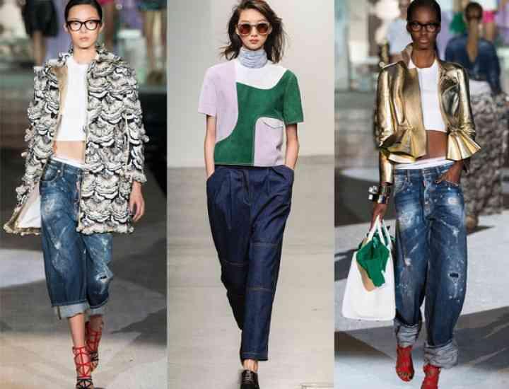 Blugi la modă Primăvară-Vară 2015