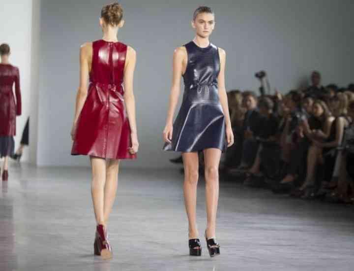 Colecția Calvin Klein pentru primăvara / vara 2015 de la New York