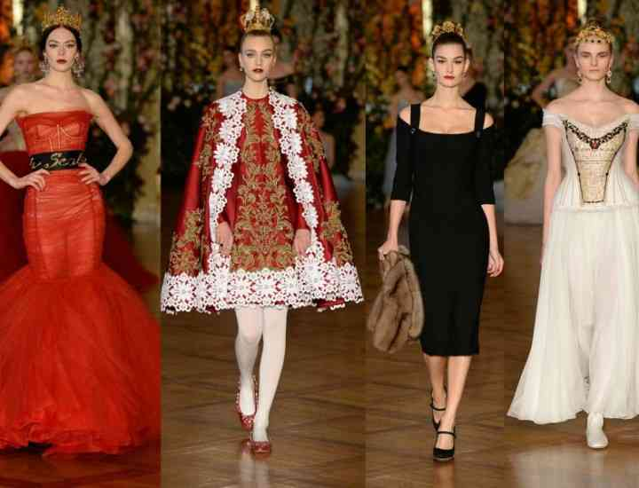Colecția Dolce & Gabbana Alta Moda pentru primăvara – vara 2015