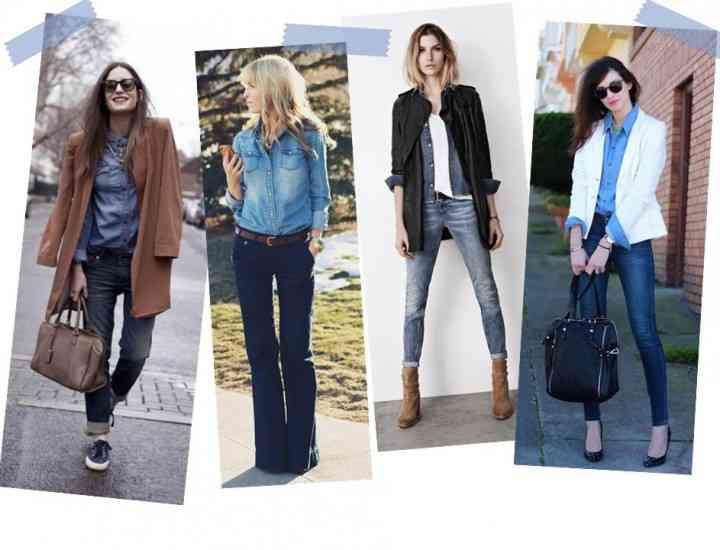Cămașa din denim este la modă în 2015