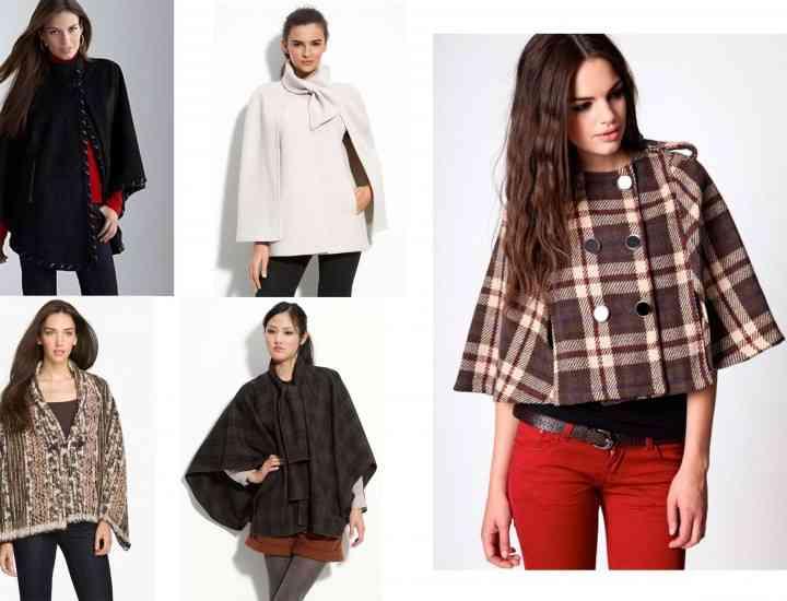 Modele de geci, paltoane, pelerine şi poncho-uri la modă în Primăvara lui 2015