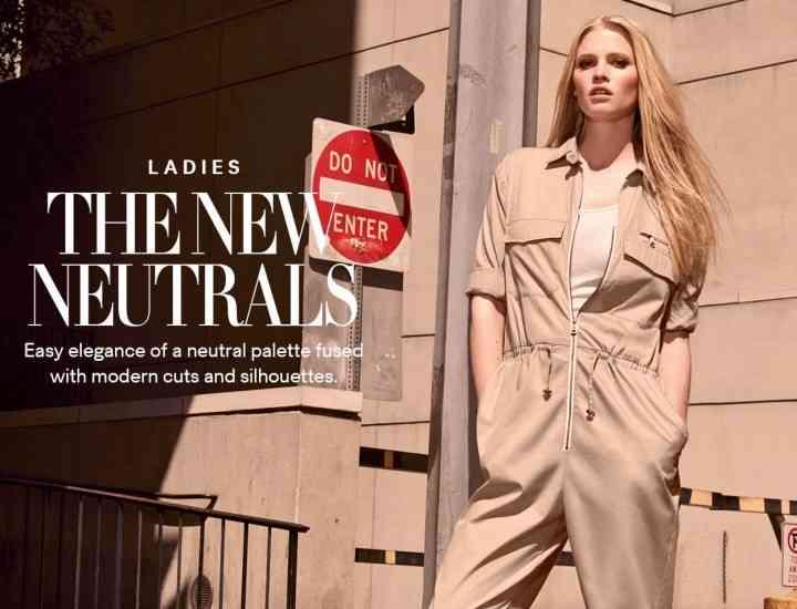"""Gingantul High Street H & M lansează colecția """"The New Neutrals"""" 2015"""